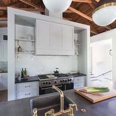 Transitional Kitchen by HSH Interiors