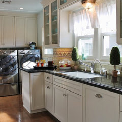 eclectic kitchen by MDB Design Group