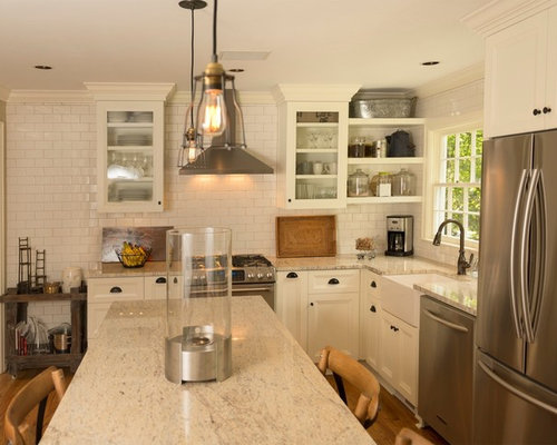 brown kitchen cabinets colonial granite houzz 1832