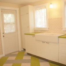 Eclectic Kitchen 1940's In-law Cottage