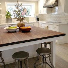 Traditional Kitchen by Kristi Hughes Design etc. / Atelier 20