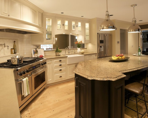 Laneshaw cambria kitchen home design ideas pictures for Traditional kitchen handles nz