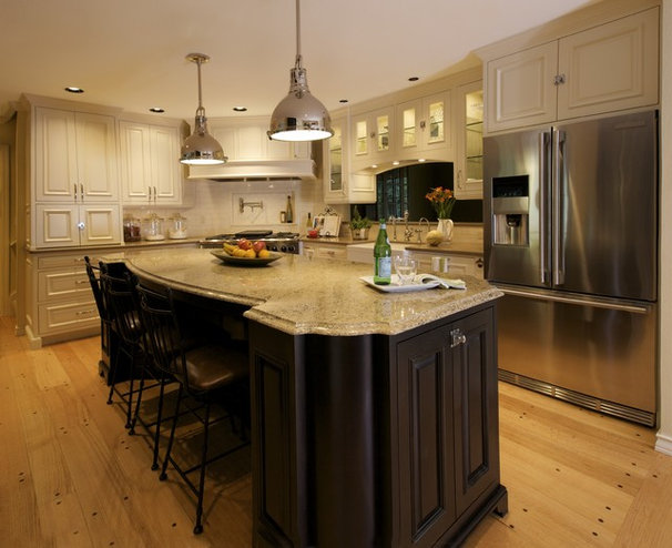 Traditional Kitchen by Nordby Design Studio