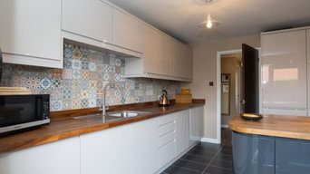 1970's bungalow, kitchen, after renovation