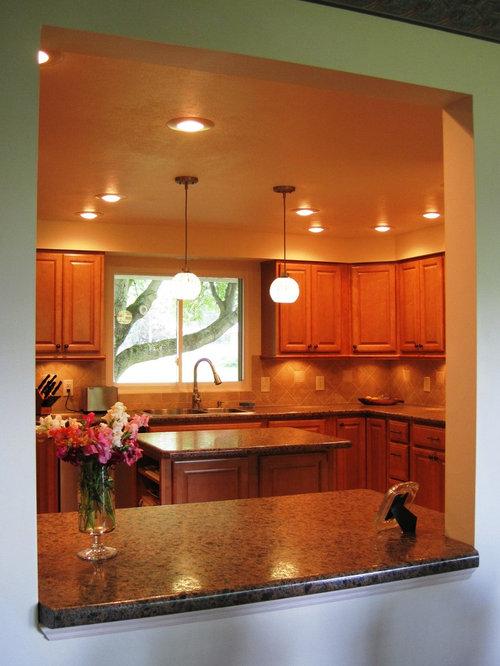 1970 split level kitchen design ideas remodels photos for 1970 s split level remodel