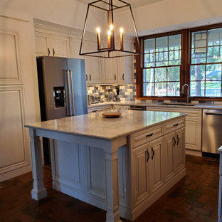 1980 Longwood Florida Home 2020 Kitchen Island After
