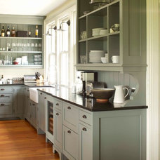 Farmhouse Kitchen by KATE JOHNS AIA