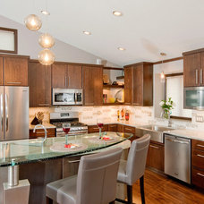 Contemporary Kitchen by Crystal Kitchen Center