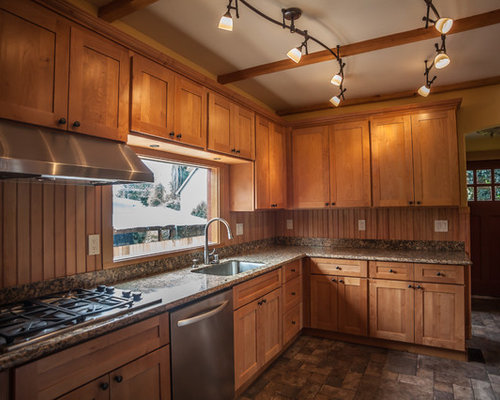 Natural Maple Shaker Cabinets Ideas Pictures Remodel And