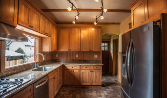 1L Natural Maple Shaker Kitchen Cabinets