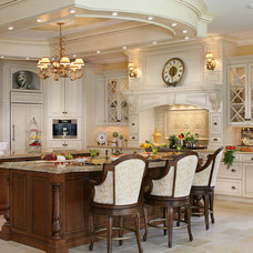 Traditional Kitchen by Peter Salerno Inc
