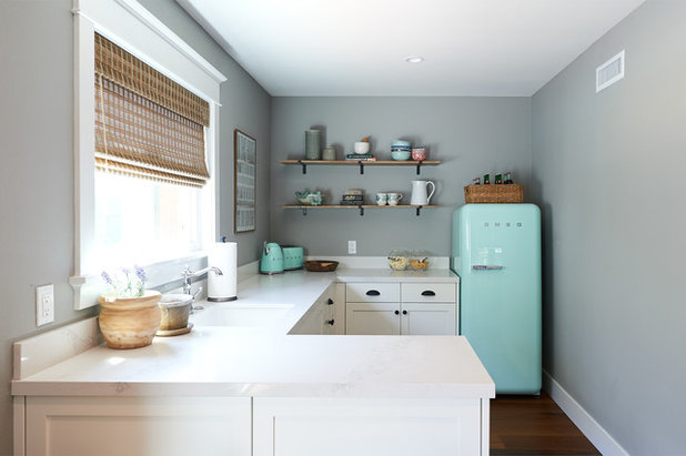 Beach Style Kitchen by Bungalow 56
