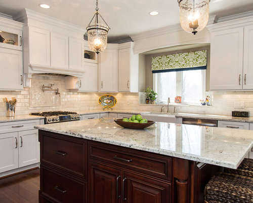 Fantastic White Granite Houzz