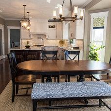 Transitional Kitchen by Karen Spiritoso Home Designs By Karen