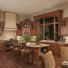 Traditional Kitchen by DTF Design, Inc.
