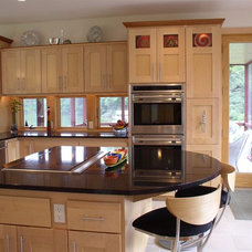 Contemporary Kitchen by Architectural Homes by Anders Inc