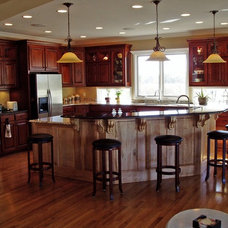 Traditional Kitchen by Ted Ward Construction