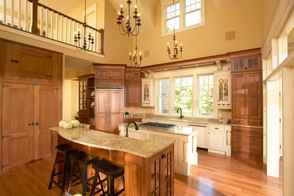 Traditional Kitchen by KGA Studio Architects