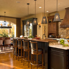 Rustic Kitchen by Witt Construction