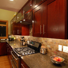 Contemporary Kitchen by Kaufman Construction Design and Build