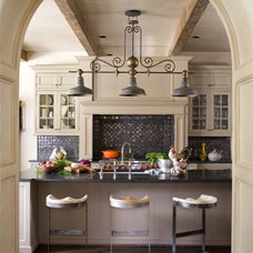 traditional kitchen by Period Homes, Inc.