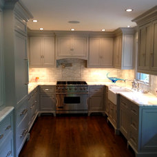 Traditional Kitchen by Benjamin Silver Design