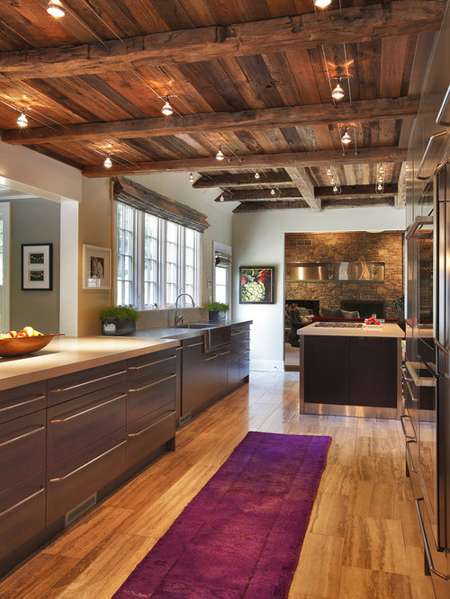 track lighting on beams houzz
