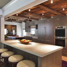 Contemporary Kitchen by Blansfield Builders, Inc.