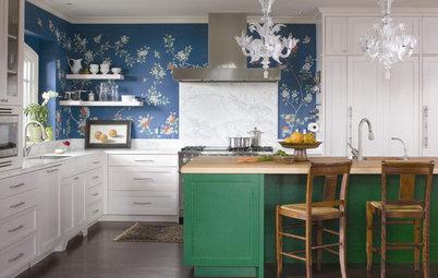 Try a Shorter Kitchen Backsplash for Budget-Friendly Style