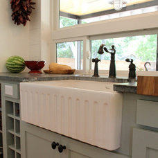 Farmhouse Kitchen by CCB Designs