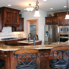 Traditional Kitchen by Belman Homes