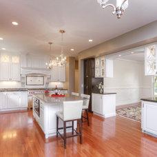 Transitional Kitchen by Lori Jolin Design, LLC.
