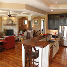 Traditional Kitchen by Tim O'Brien Homes