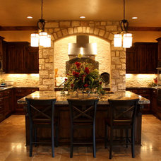 Traditional Kitchen by Chalace Designs