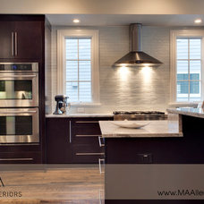 Contemporary Kitchen by MA Allen Interiors