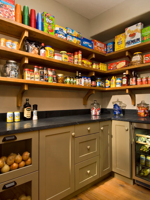 rustic kitchen pantry design ideas remodel pictures houzz - Pantry Designs Ideas