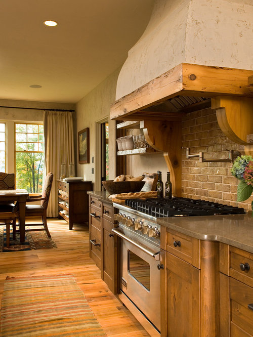 Rustic Italian Kitchen Design Ideas Remodel Pictures Houzz