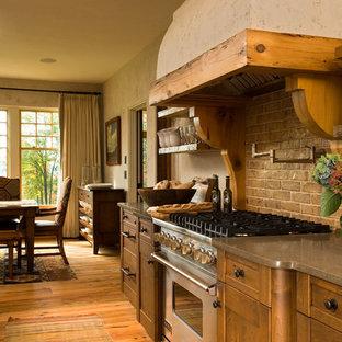 Klassische Wohnküche in New York