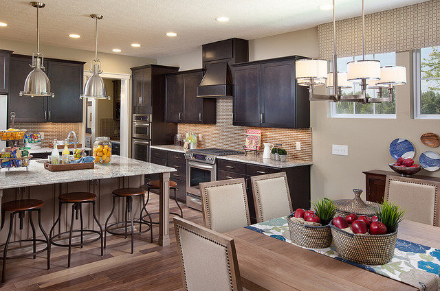 Transitional Kitchen by M/I Homes