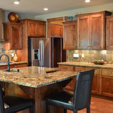 Craftsman Kitchen by Belman Homes