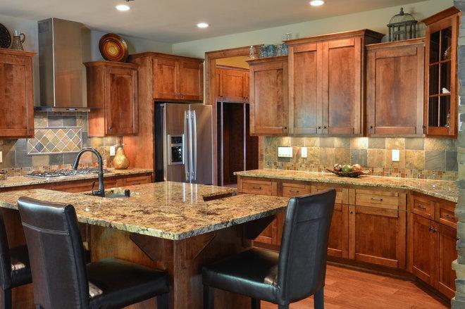 Craftsman Kitchen by Belman Homes