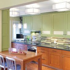 Transitional Kitchen by National Kitchen & Bath Association