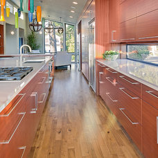 Contemporary Kitchen by HAYES CABINETS INC