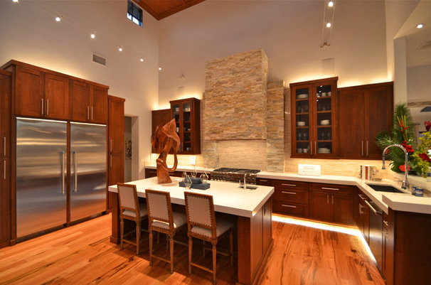 Contemporary Kitchen by Kyle Lindsey Custom Homes