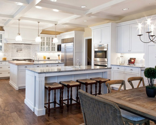 Two Island Kitchen Home Design Ideas Pictures Remodel