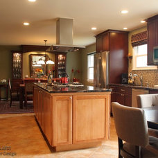 Traditional Kitchen by Charles C. Almonte, AIA ASID