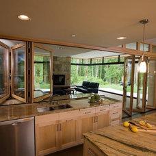 Contemporary Kitchen by Gelotte Hommas Architecture