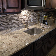 Modern Kitchen by Old World Stone Imports