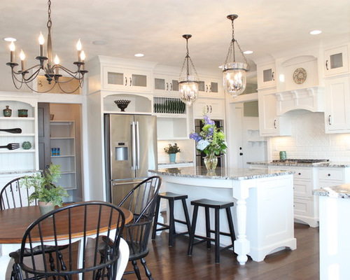 Kitchen island light fixtures at home and interior design for Kitchen lighting ideas b q