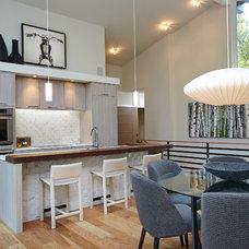 Midcentury Kitchen by Rock Kauffman Design